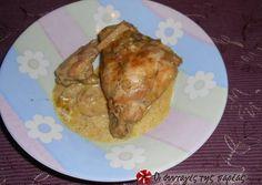 κύρια φωτογραφία συνταγής Κουνέλι με κάρυ Greek Recipes, Recipies, Pork, Cooking Recipes, Meals, Chicken, Vase, Recipes, Kale Stir Fry