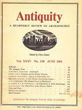 Antiquity: A Quarterly Review Of Archaeology June 1961/Seuthopolis/Blackamore