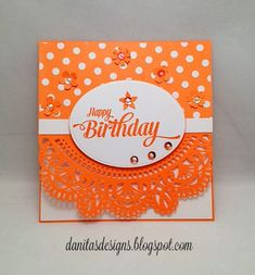 Danita's Designs!!! : Birthday Card