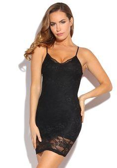 Déesse dentelle noire à manches courtes Wiggle longueur genou soirée robe de cocktail