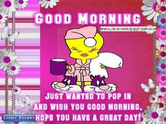 Tweety Good Morning