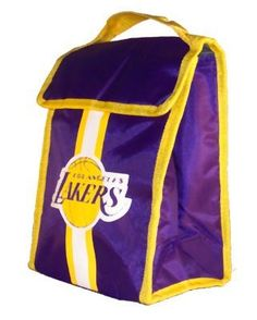 Los Angeles Lakers Soft Sided Velcro Lunch Bag by Forever Collectibles. $10.75. Support your team and show everybody your a fan with this Insulated Lunch Bag - Cooler by Forever Collectibles! Officially licensed, this convenient lunch bag features team graphics, fully lined, insulated vinyl interior, and a velcro closure. Makes a great gift or collectible for yourself or the special fan in your life!