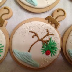 Charlie Brown Christmas Tree Sugar Cookie | Cookie Connection