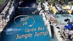 Caribe Bay (Aqualandia) 2019 Jungle Jump 360° VR Onslide Music Clips, Imagine Dragons, Top Of The World, Vr, Waterfall, Amazon Warriors, Waterfalls