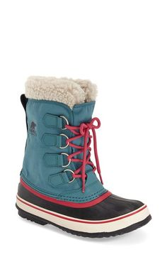 Free shipping and returns on SOREL 'Winter Carnival' Boot (Women) at Nordstrom.com. A removable felt-and-faux-fur lining offers extra insulation for freezing winter outings in a waterproof snow boot that's as playful as it is durable.