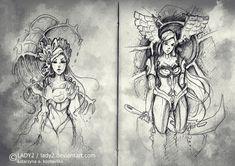 sketches#03 by Lady2.deviantart.com on @deviantART