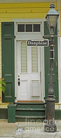 New Orleans Print featuring the photograph French Quarter Door - 10 by Susie Hoffpauir Louisiana Homes, New Orleans Louisiana, Louisiana Art, New Orleans Art, New Orleans Homes, New Orleans Architecture, Portal, Shotgun House, New Orleans French Quarter