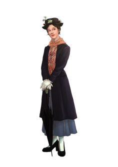 Mary Poppins is a character and the main female protagonist from Disney's 1964 musical, hybrid (live-action/animated) film Mary Poppins. Description from pinterest.com. I searched for this on bing.com/images