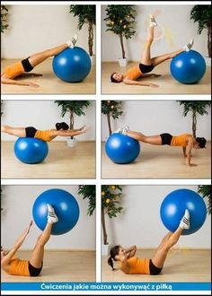 Ćwiczenia z piłką - Tips For Women Yoga Fitness, Health Fitness, Yoga Flow, Tips, Sports, Workouts, Exercises, Inspiration, Women