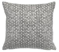 Sierkussen TUESILDRE 45x45 grijs rondjes patroon   JYSK