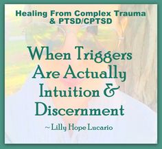 'Triggers' are common issues with people with (Complex) Post Traumatic Stress Disorder. The common advice given is to learn your triggers, avoid triggers,manage triggers. Triggers, are…