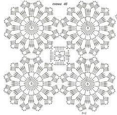 tutorial japanese flower crochet - Buscar con Google