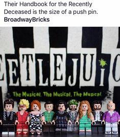 I NEED these legos Theatre Nerds, Musical Theatre, Beetlejuice Cast, Michael In The Bathroom, B Words, God Help Me, Dear Evan Hansen, Kid Memes, Travel Humor