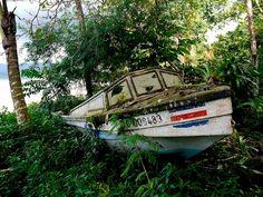 Retired Boat, Drake Bay, Costa Rica