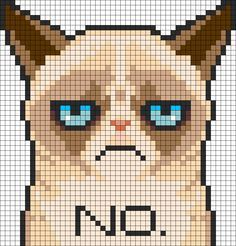 Free Pattern: Grumpy Cat | Craft Gossip | Bloglovin'