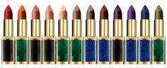 L'Oréal Paris x Balmain Paris Lipstick Ad Campaign - Red Carpet Fashion Awards