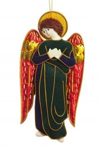 Traquair Angel Christmas Tree Ornament - CATHEDRAL - Christmas Decorations
