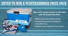 Check out the gear Costa's giving away through July 4!