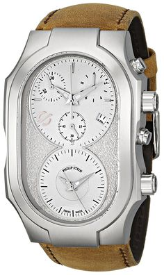 Philip Stein Men's 300-SLG-CASTM Swiss Signature Analog Display Swiss Quartz Brown Watch * Check out this great watch.