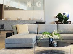 Sofas, Modular Sofas, Designer Lounges, Sofabeds & Recliners in fabric and leather - King Living