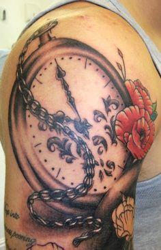 Monki Do chain watch tattoo
