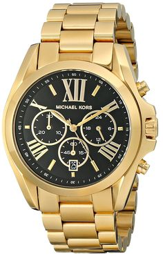 Michael Kors Women's Bradshaw Gold-Tone Watch MK5739 >>> Startling review available here