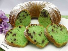 Ciambellone after eight Delicious Cookie Recipes, Yummy Cookies, Sweet Recipes, Real Food Recipes, Cake Recipes, Dessert Recipes, Sweet Light, Mint Desserts, Mint Cake