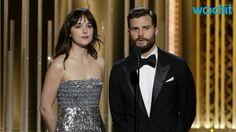 Dakota Johnson et Jamie Dornan aux Golden Globes