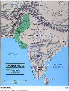 Geography of Ancient India -Aryan Invasion -Foundation of Hinduism -Caste system
