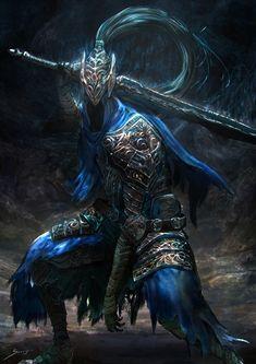 Artorias the Abysswalker – Dark Souls fan art by Sarayu Ruangvesh