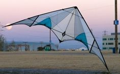 A Prism Designs Eclipse ( SUL & Vented ) dual-line sport kite.