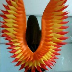 """""""Phoenix wings #Redwing #firewings #fairywings"""" Angel Wings Costume, Cosplay Wings, Halloween Wings, Phoenix Wings, White Angel Wings, Wedding Arch Flowers, Angel Images, Belly Dance Costumes, Fairy Wings"""