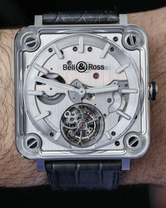 Bell and Ross BR X2 Tourbillon Micro-Rotor Automatic Watch Hands-On
