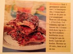 Spare-ribs (marinade) - Slowcookers NL