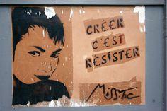 Paris 5 - rue des patriarches - street art - miss tic