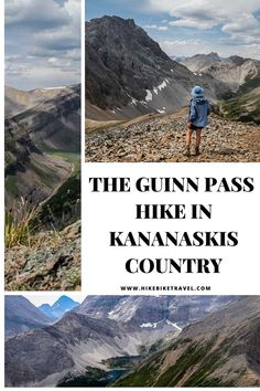 The Guinn Pass hike in Kananaskis Country Alberta Travel, Backpacking, Camping, Visit Canada, The Mountains Are Calling, Mountain Hiking, Day Hike, Canada Travel, Summer Travel