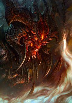 Diablo 3 Concept art.
