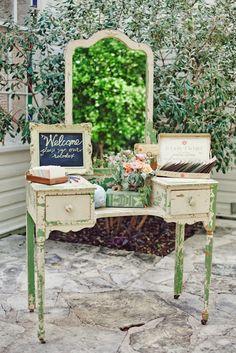 Vintage Wedding Ideas - Pt. 2 - Using Vintage Furniture