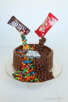 how to make an anti gravity cake