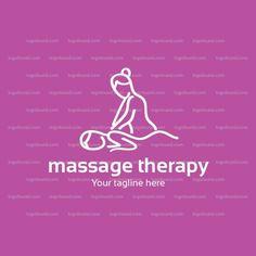 Logo Design Template, Logo Templates, Physical Therapy, Physics, Massage, Identity, Branding, Cosmetics, Logos
