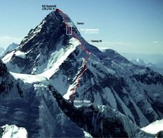 """K2 - Altitude: 8611m, Base Camp Altitude: 5000m; Location:Baltoro Glacier; Range: Karakoram; Ideal Duration: 60 Days; Best Time: June - August; No of Camps Required: 04  In Reinhold Messner's opinion, K-2 is the most impressive but the most difficult peak in the world. The locals call it 'the king of mountains'. K2 has  been described as the """"awesome"""", """"killer"""", """"savage"""" and """"the mountain of mountains"""". Its lower face is rocky up to 6,000 meters, beyond which it becomes a vertical ocean of…"""