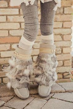 Yoko's Boots (photo by Erin Alexander Photography). Urban Mukluks by Julie P - Winter Boots - Ideas of Winter Boots - Yoko's Boots (photo by Erin Alexander Photography). Urban Mukluks by Julie Pedersen. Hippie Boots, Boho Boots, Cute Winter Boots, Winter Shoes, Ugg Style Boots, Ugg Boots, Mocassins Boots, Cute Shoes, Me Too Shoes