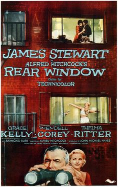 "the effects of confinement in rear window a movie by alfred hitchcock ""of all hitchcock's films, this in the one which most reveals the man  it was  made entirely on one confined set built at paramount studios—a realistic   tenant lb ""jeff"" jeffries (james stewart) to keep tabs on everyone through his "" rear window  impact on film history through his preservation and re-release of  five alfred."