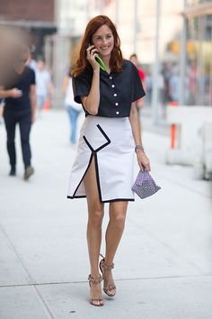 cool skirt #TTH. #TaylorTomasiHill #NYFW