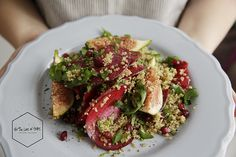 FIG & BEET SUMMER SALAD The color of love is the theme for this vibrant Summer fig and Beet salad.  http://www.fortheloveoftaste.nl/fig-beet-summer-salad/