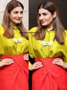 Raveena Tandon in Payal Khandwala   Fashionworldhub