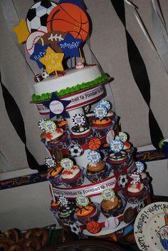 Cute Sports Birthday Idea