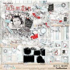Winter Wishes Collection by Palvinka Designs   Digital Scrapbook @ at The Digichick