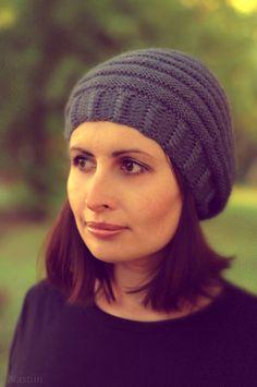 pretty knit hat