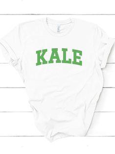 b86164110 Kale shirt | Kale Yale t shirt | Kale yeah | vegetable tee shirt |  vegetarian apparel | vegan merchandise | University tshirt for students